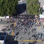 Surgen protestas a favor y contra los migrantes en Tijuana - Foto de López-Dóriga Digital