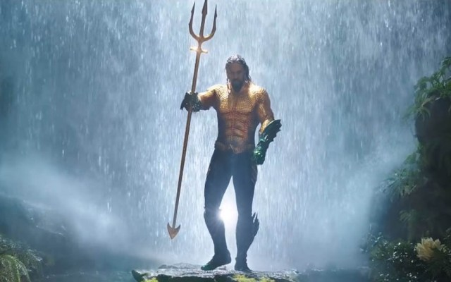 #Video Llega el tráiler final de Aquaman - Jason Momoa como Aquaman. Captura de pantalla