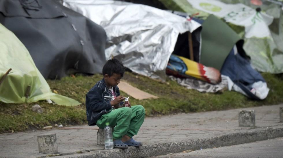 Venezuela es el segundo país con mayor desnutrición en América Latina - Foto de AFP