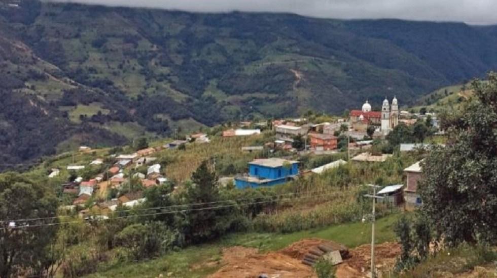 Jóvenes de La Montaña de Guerrero se suicidan con herbicida - Zilacayotitlán, comunidad en La montaña de Guerrero. Foto de El Universal