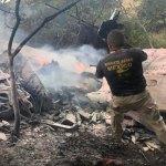 Cae avioneta en Atizapán, Estado de México; los dos tripulantes murieron