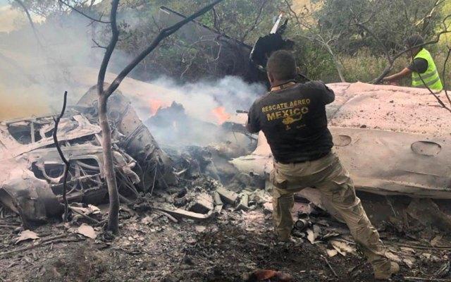 Cae avioneta en Atizapán, Estado de México; los dos tripulantes murieron - Atizapán avioneta
