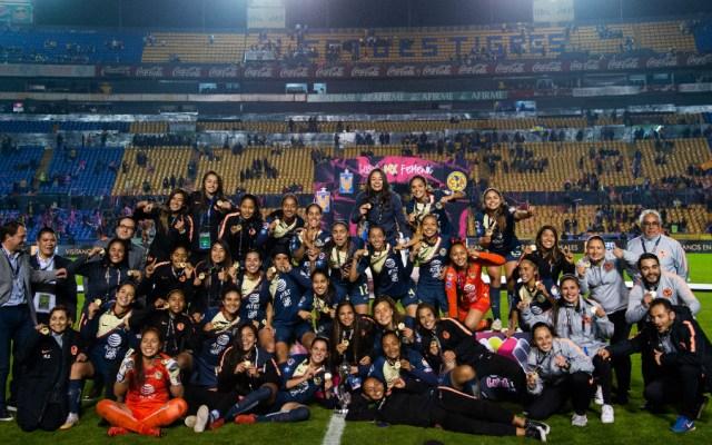 América se corona en el Apertura 2018 de la Liga MX Femenil - Foto de Mexsport