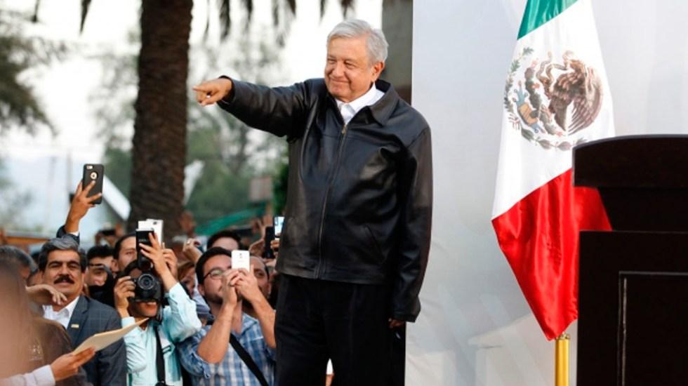 López Obrador supervisará supercarretera al Istmo - Foto de Notimex