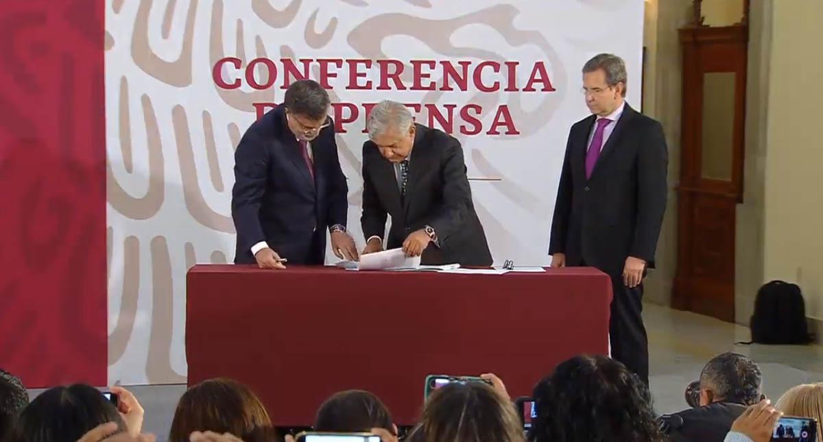Firma de iniciativa contra la Reforma Educativa. Captura de pantalla