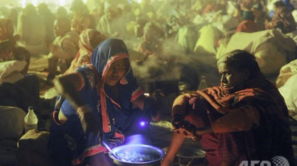 Once muertos tras comer arroz contaminado en India - Foto de AFP
