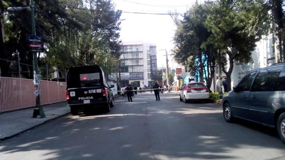 Balacera en Benito Juárez deja un asaltante muerto - Foto de López-Dóriga Digital