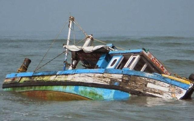 Mueren 12 personas en accidente de barco en Nigeria - Bote hundido en Lafiagi. Foto de Internet