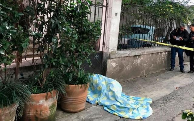 Hallan cadáver en la colonia Condesa - Foto de @alertasurbanas