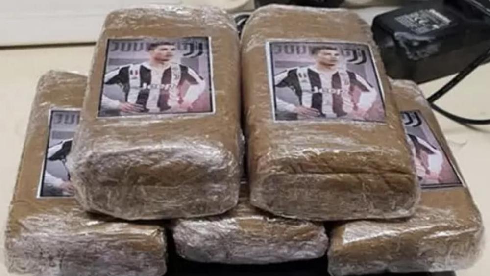 Aseguran paquetes de mariguana con la cara de Cristiano Ronaldo - mariguana, Cristiano Ronaldo