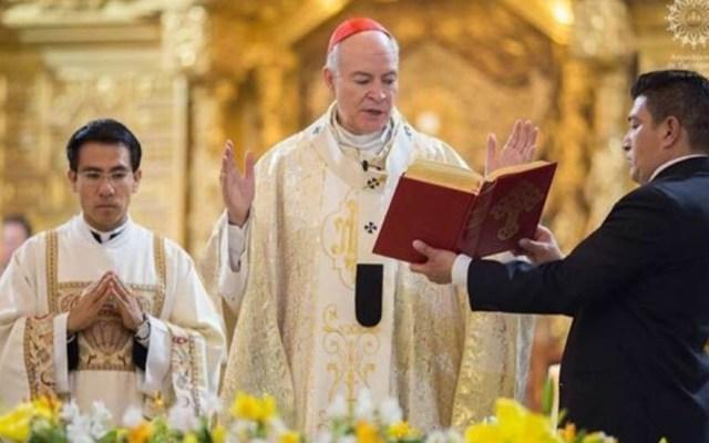 Catedral Metropolitana celebrará misas navideñas - Carlos Aguiar Retes, arzobispo primado de México. Foto de Internet