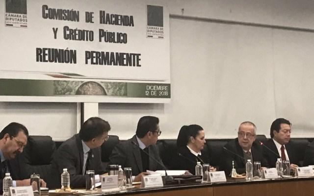 Recompra de bonos no tendrá impacto en presupuesto: Carlos Urzúa - Carlos Urzúa comparece ante diputados