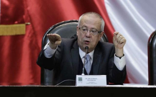 Reducción salarial será solo a mandos superiores: Urzúa - Foto de @Milenio