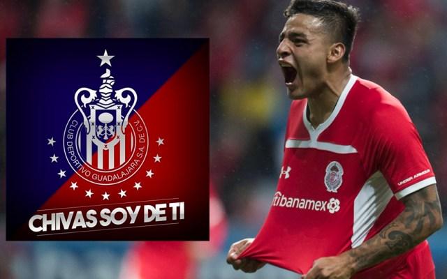 Alexis Vega nuevo jugador de las Chivas