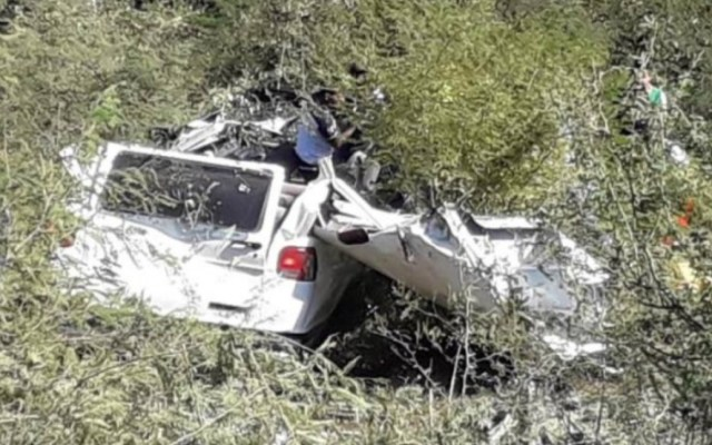 Choque de camionetas deja seis muertos en la Autopista Siglo 21 - Choque autopista siglo 21 muertos