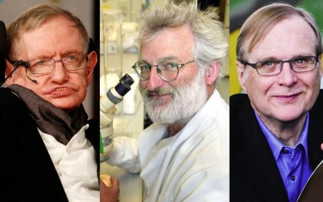 Muertes de científicos marcaron el 2018 - Stephen Hawking, John Sulston y Paul Allen. Foto de Internet