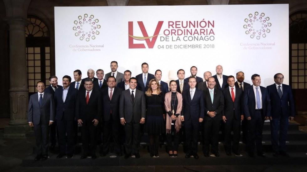 Gobernadores y AMLO llegan a acuerdo: superdelegados no intervendrán en seguridad - Foto de Twitter Francisco Cabeza de Vaca