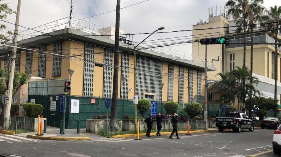 EE.UU. emite alerta de seguridad en Guadalajara tras ataque a consulado - Consulado de EE.UU. en Guadalajara. Foto de Internet