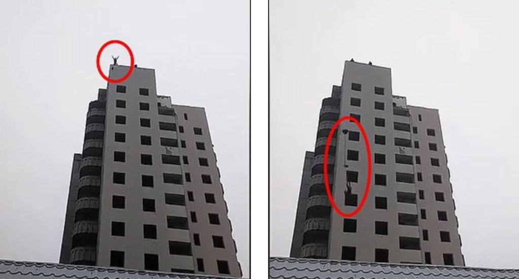 #Video Menor muere tras lanzarse con paracaídas hecho en casa - Foto de Internet