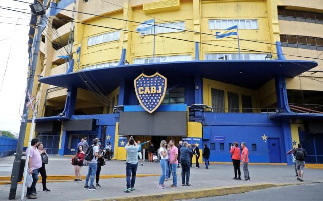 Desalojan estadio de 'La Bombonera' por falsa amenaza de bomba - Foto de Ludovic MARIN / AFP