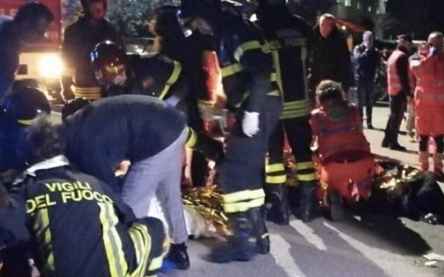 #Video Estampida en club nocturno mata a seis en Italia - Foto de @LiaColombo1