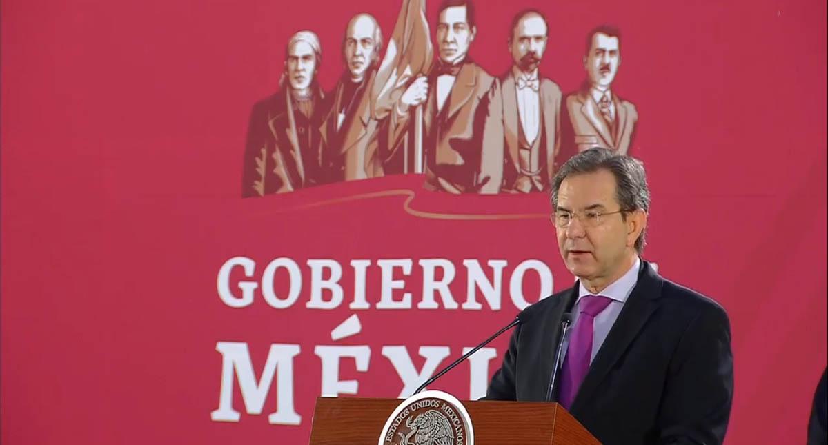 Secretario de Educación Pública, Esteban Moctezuma. Captura de pantalla
