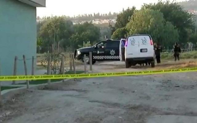 Hallan restos de siete personas en fosa clandestina de Lagos de Moreno - FGE Jalisco en fosa clandestina. Foto de @lider919