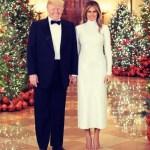 Melania Trump comparte foto navideña - Foto de Twitter Melania Trump