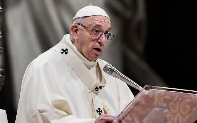 Transmitirán misa de Nochebuena del papa en ultra alta definición - papa dice que el miedo a los migrantes nos vuelve locos