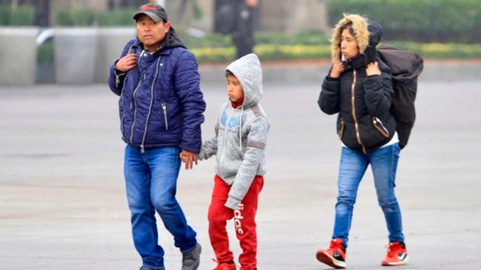 Persistirá el ambiente frío en gran parte del país - frente frío