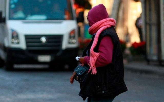 Año Nuevo con bajas temperaturas en la Ciudad de México - Foto de Notimex