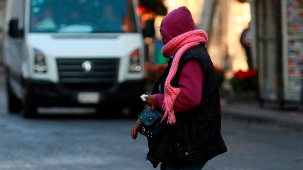 Alerta Naranja por frío intenso en la capital este domingo - Foto de Notimex