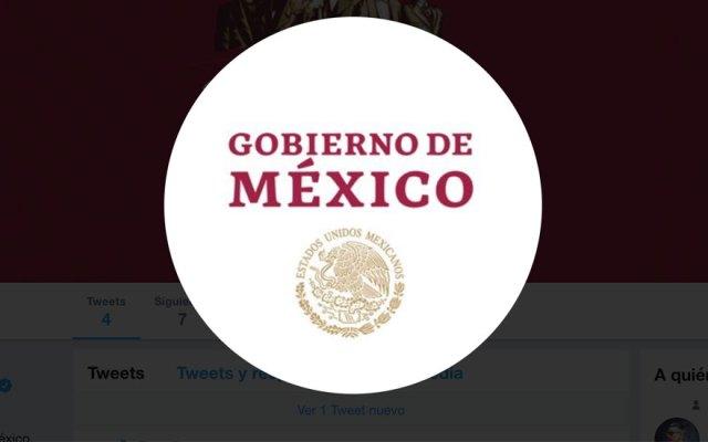 Gobierno de López Obrador habilita cuenta en Twitter - Captura de pantalla
