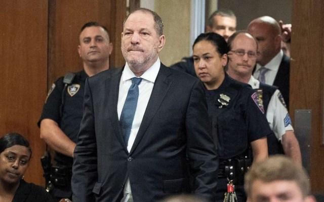 Weinstein solicitará a juez desestimar cargos en su contra - Harvey Weinstein en la corte. Foto de Internet