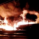 #Video Controlan fuerte incendio en el Bordo de Xochiaca - Incendio