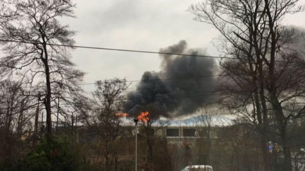 Se incendia zoológico en Reino Unido - Foto de Mirror
