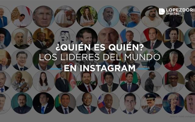 Los líderes mundiales más seguidos en Instagram