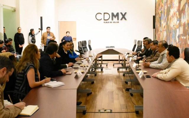 Instalan nuevo gabinete de seguridad en la CDMX - Instalación del nuevo gabinete de Seguridad de la CDMX. Foto de @amievajoserra