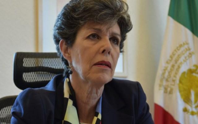 Magistrados electorales refrendan su apoyo a Janine Otálora - los magistrados defendieron el trabajo de otálora