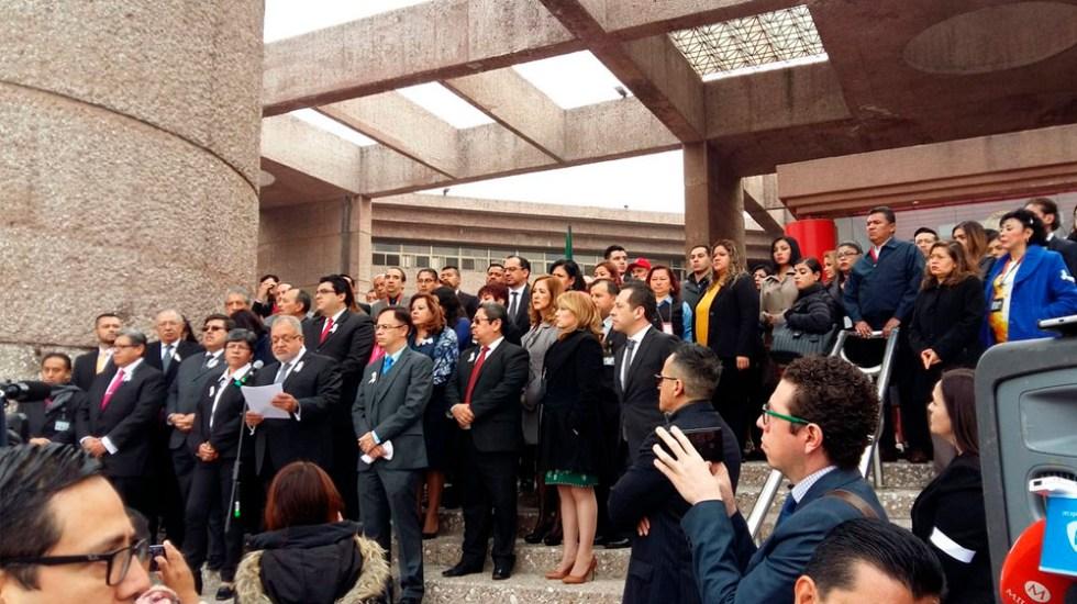 Jueces y magistrados piden respeto a la división de poderes - Foto de @emirebel