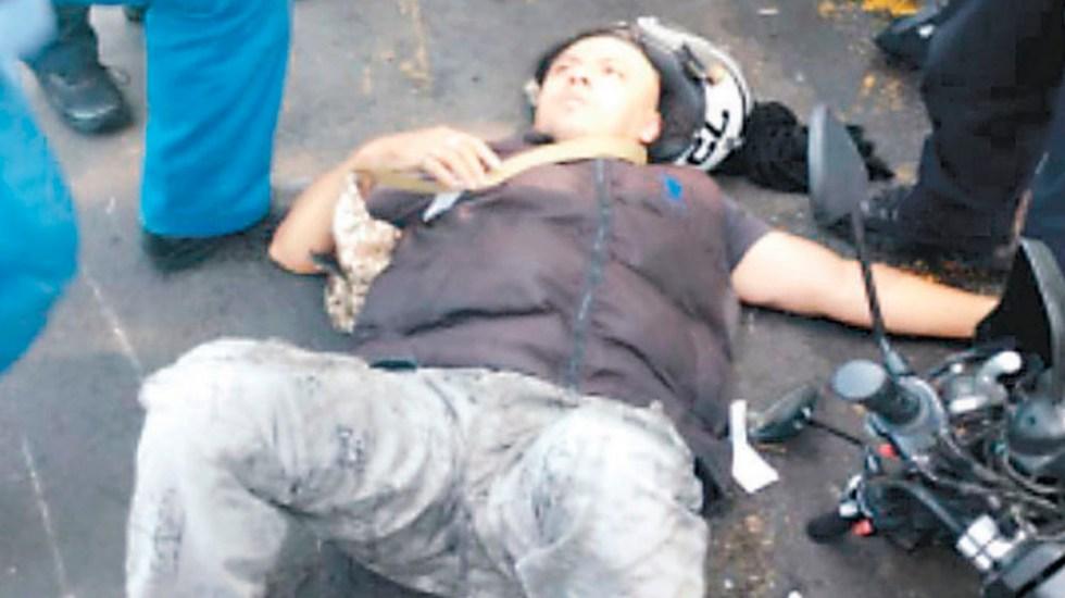 Familiares de asaltante irrumpen en hospital para ayudarlo a escapar