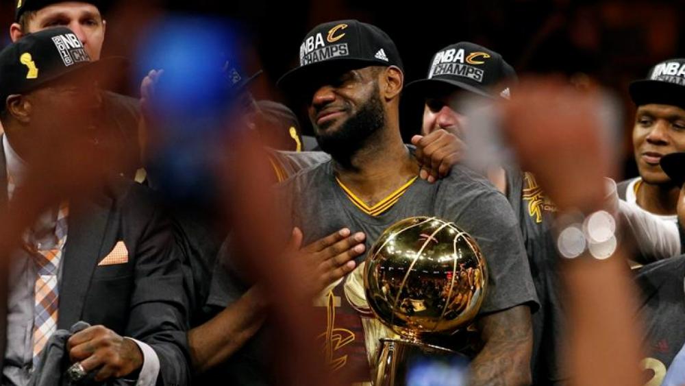 """""""Me sentí el mejor jugador de la historia"""": LeBron sobre título de 2016 - Foto de EFE"""
