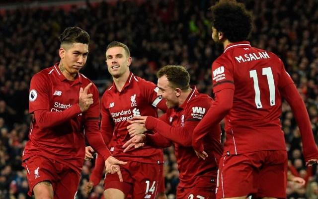 Liverpool golea 5-1 al Arsenal - Foto de AFP