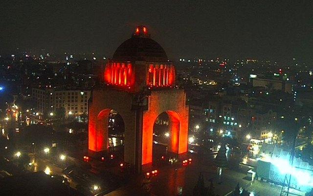Alerta Amarilla por lluvias en la Ciudad de México; graniza en Xochimilco - Foto de webcamsdemexico