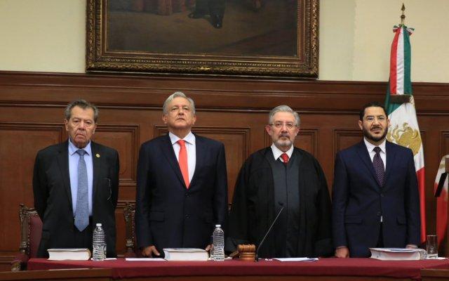 Informe del presidente de la Suprema Corte de Justicia de la Nación (En vivo) - Foto de @CanalJudicial