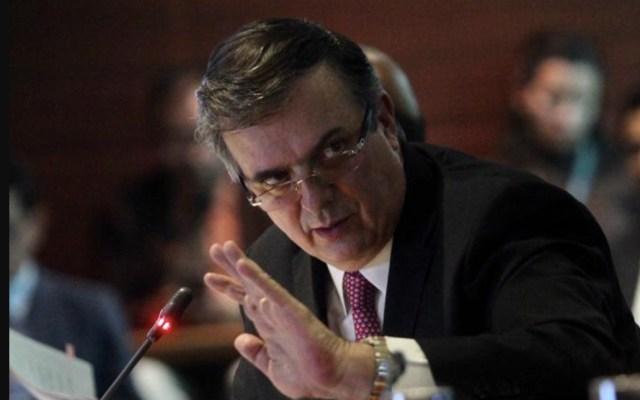 Reabrir negociación del T-Mec podría ser una caja de Pandora: Ebrard - Foto de Twitter Marcelo Ebrard