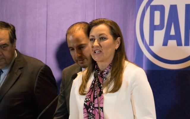 Martha Erika Alonso pide a López Obrador trabajar en equipo - Foto de Diario de México
