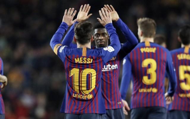 Barcelona se va al parón navideño como líder de La Liga - Foto de @FCBarcelona
