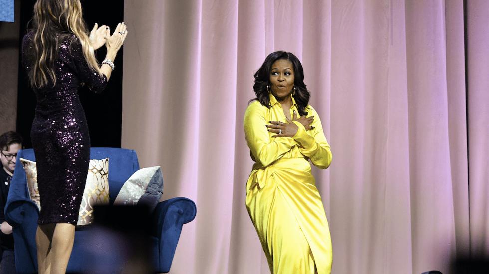 Michelle Obama la mujer más admirada de EE.UU. - Foto de AFP