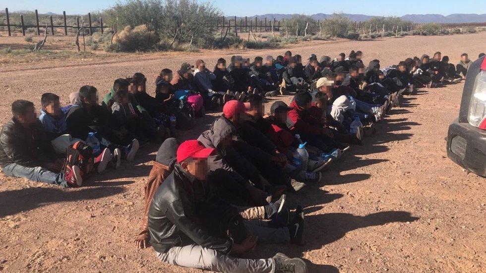 Ordenan revisión médica a niños migrantes en Estados Unidos - Migrantes. Foto de @CBPSanDiego